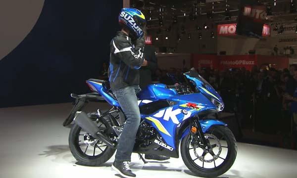 GSX-R125 baby Suzuki GSX-R150
