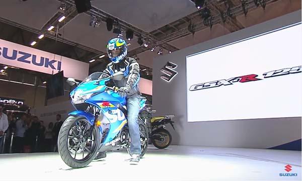 Peluncuran Suzuki GSX-R125