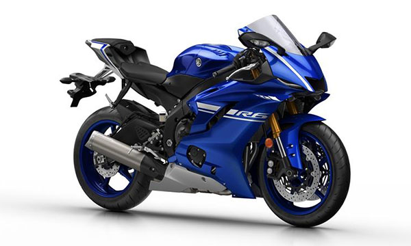 Yamaha R6 2016 Racing Blu