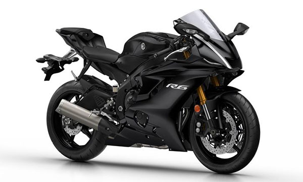 Yamaha R6 2017 Tech Black