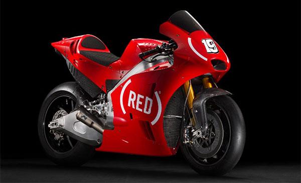 Aprilia pakai motor warna merah di MotoGP Valencia