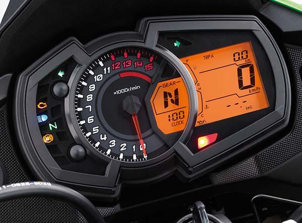 Kawasaki Versys-X 250 speedometer