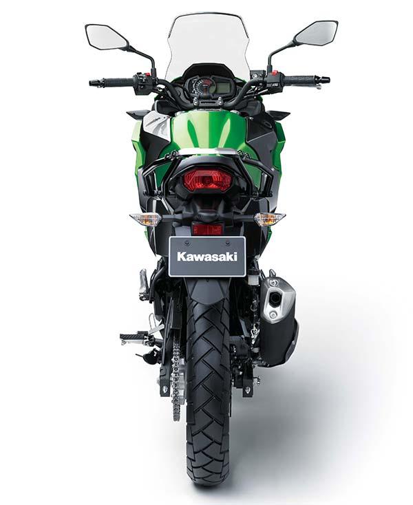 Kawasaki Versys-X 250 belakang