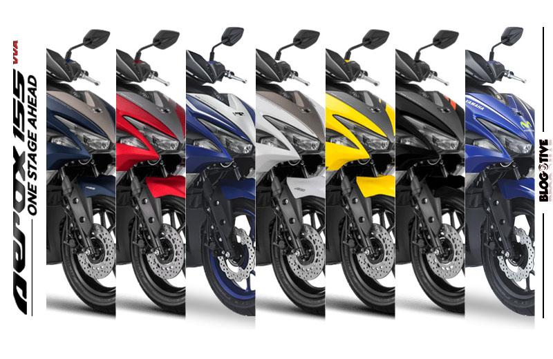 Pilihan Warna Yamaha Aerox 155