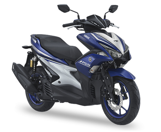 Warna Aerox 2018 R-version Racing Blue