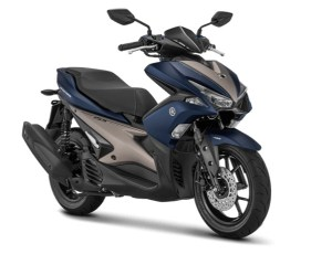 Warna Aerox 2018 S-version Matte Blue