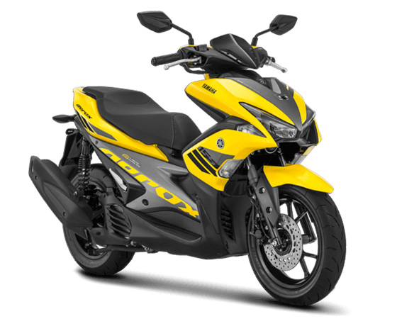 Warna Aerox 2018 Standar Yellow