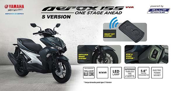 Yamaha Aerox 155 S-version