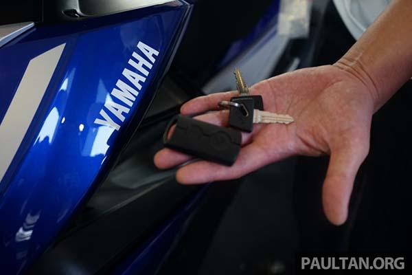 Kunci Kontak Keyless Yamaha Aerox 155