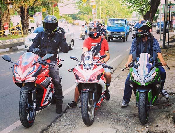 Honda CBR250RR, Yamaha R25 dan Kawasaki Ninja 250 FI
