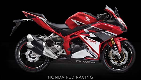 Pilihan Warna Honda CBR250RR Warna Merah Racing