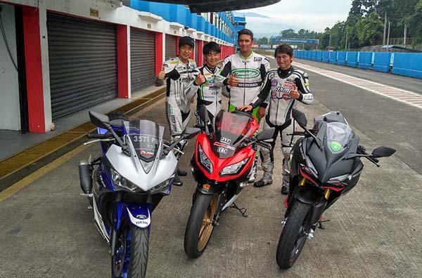 Tim Balap Jepang adu CBR250RR, Yamaha R25 dan Ninja 250