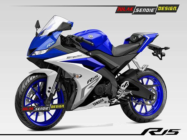 Render Yamaha R15 2017