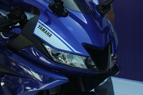 All New Yamaha R15 2017 Racing Blue
