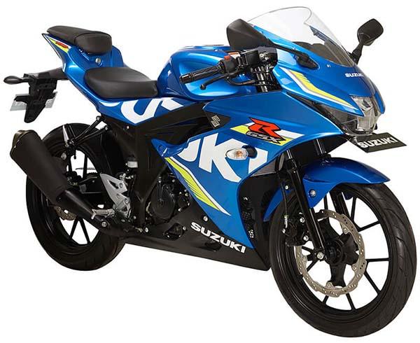 Pilihan Warna Suzuki GSX-R150 warna Metallic Triton Blue