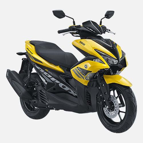 Pilihan Warna Yamaha Aerox 155 warna Yellow