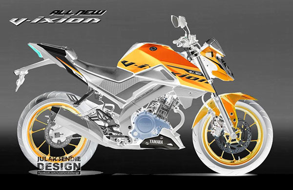 Ilustrasi Design All New Vixion 155 VVA