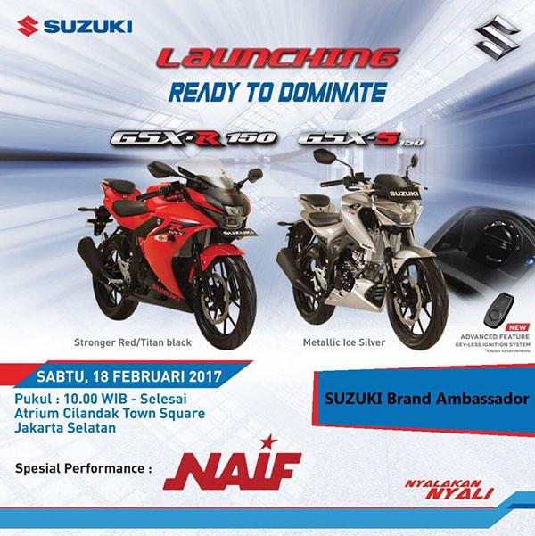 Launching resmi Suzuki GSX-R150 dan GSX-S150