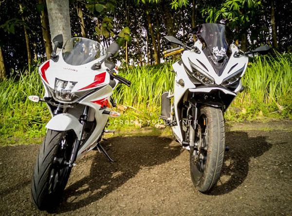 Suzuki GSX-R150 dan All New CBR150R