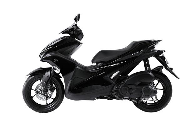 Aerox 125 VVA warna hitam