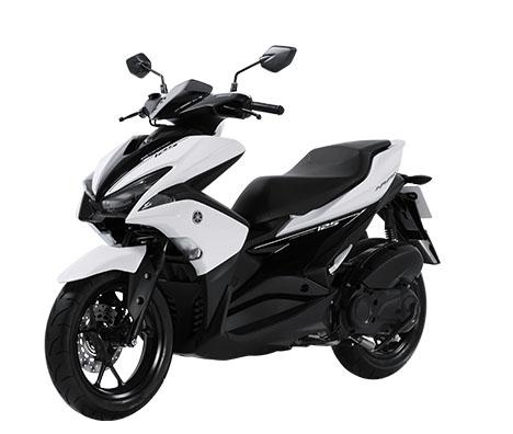 Aerox 125 warna putih