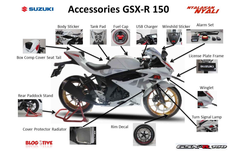 Aksesoris Suzuki GSX-R150
