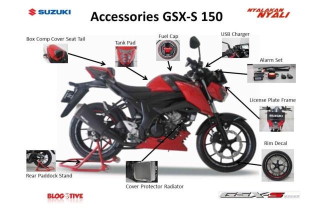 Aksesoris Suzuki GSX-S150