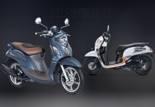 All New Scoopy vs Yamaha Fino Grande