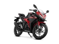 Honda CBR150R 2017 Angle Hero Black