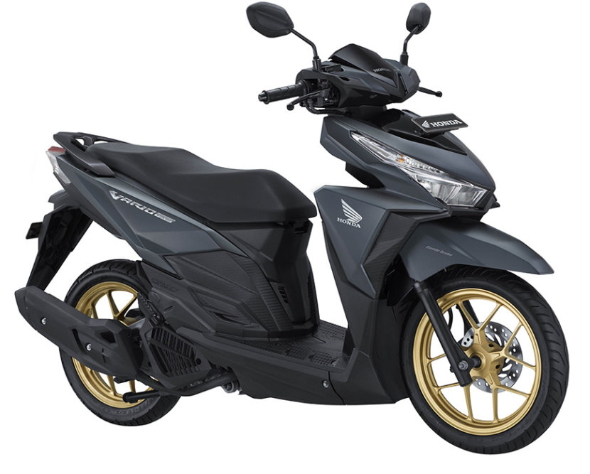 Honda Vario 150 Exclusive 2017 Velg warna Emas