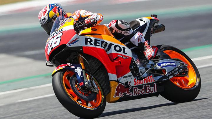 Dani Pedrosa Pole Position MotoGP Catalunya 2017