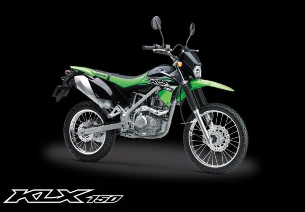 Kawasaki KLX 150 Standar warna Hijau
