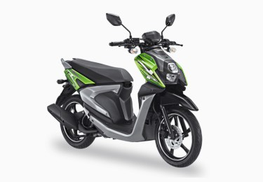 Pilihan Warna All New X-Ride 125 warna Hijau