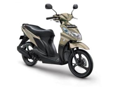 Suzuki Nex 2017 Matt Titanium Silver