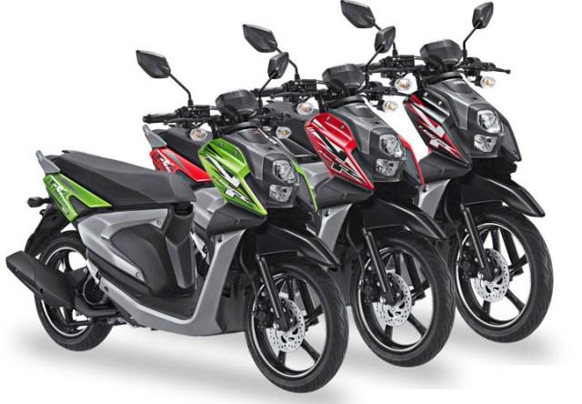 Warna Yamaha X-Ride 125