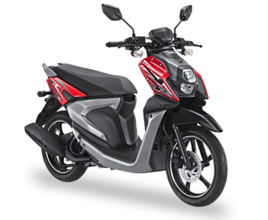 Yamaha X-Ride 125 Passion Red