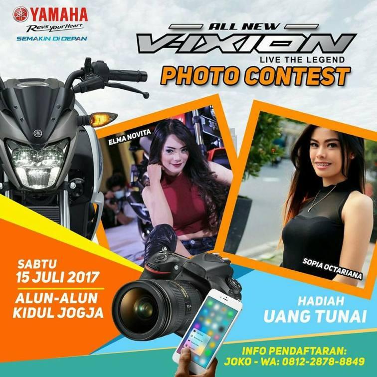 Kontes Foto Model Yamaha Jogja