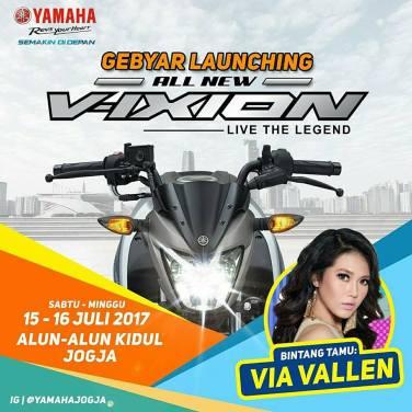 Launching Perdana All New Vixion