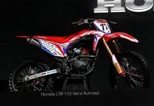 Honda CRF150 versi Konsep