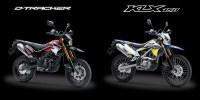 Perbedaan Kawasaki D-Tracker dan KLX 150