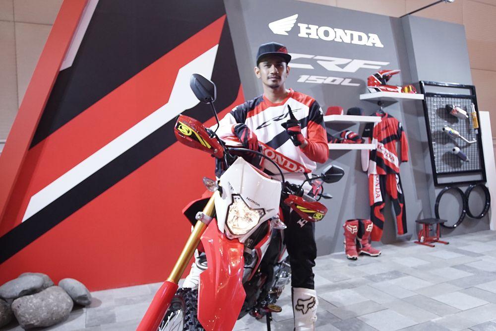 Honda CRF150L resmi keluar