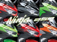 Pilihan Warna Kawasaki Ninja 250