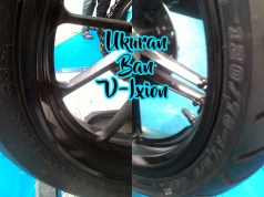 Ukuran Ban Yamaha Vixion all series