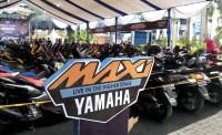 Deretan Yamaha NMax di CustoMAXI