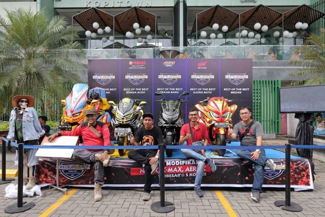 Modifikator Yamaha NMax Sumatera Utara