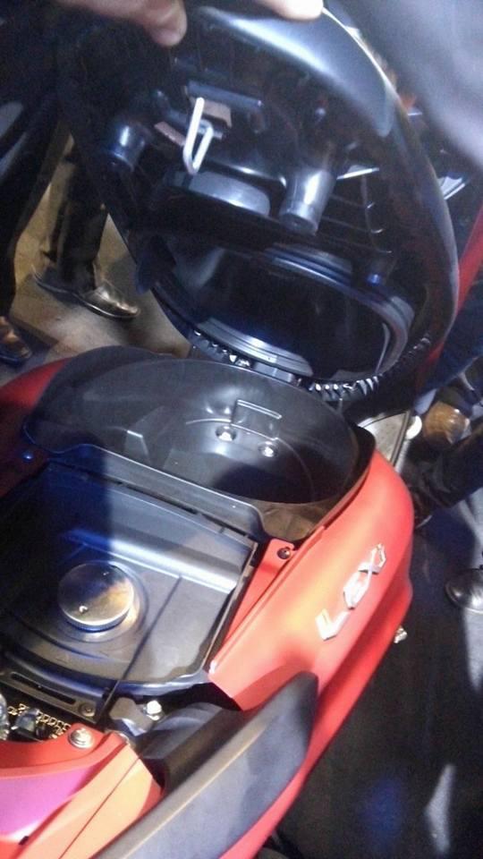 Kapasitas Bagasi Yamaha Lexi