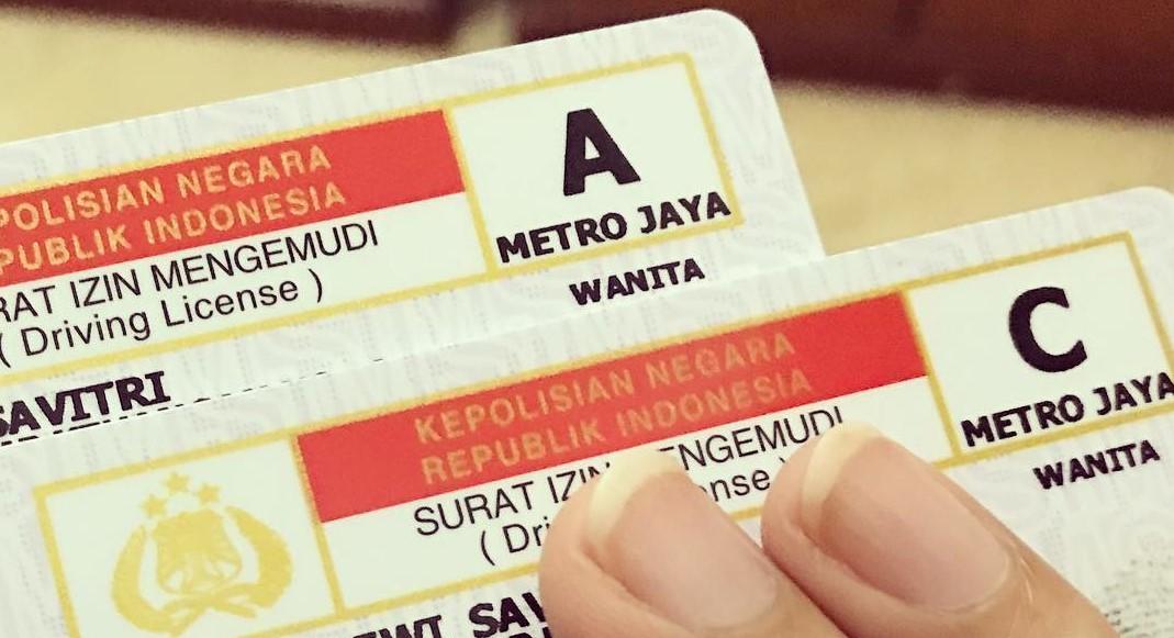 SIM C dan SIM A Surat Izin Mengemudi