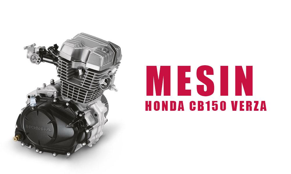 Mesin Honda CB150 Verza