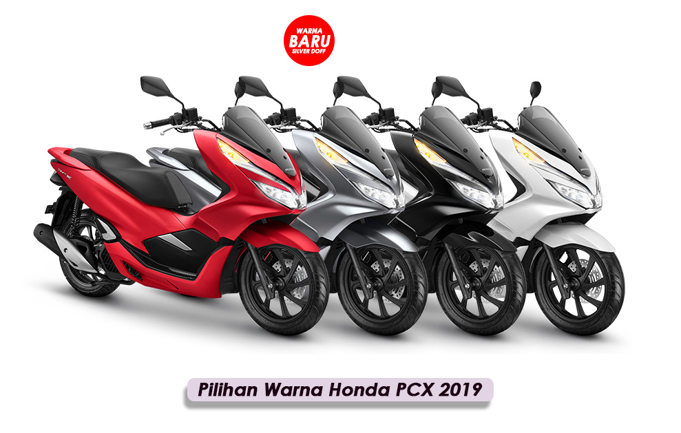 Pilihan Warna Honda PCX 2019