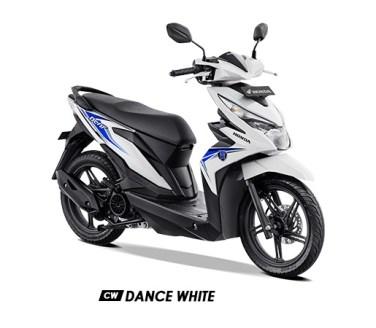 Warna BeAT 2019 CW Putih Dance White